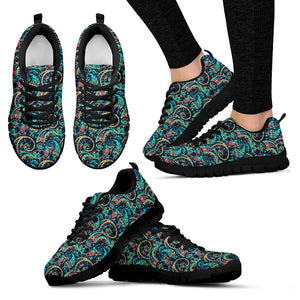 Seamless Floral 2 Sneakers - Clicksstars