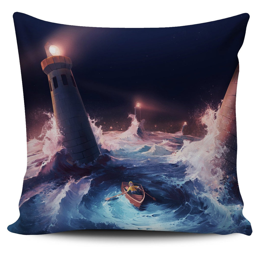 Adversity by AquaSixio Cushion Cover - Clicksstars
