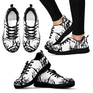 Womens Gloomy Tree Sneakers. - Clicksstars