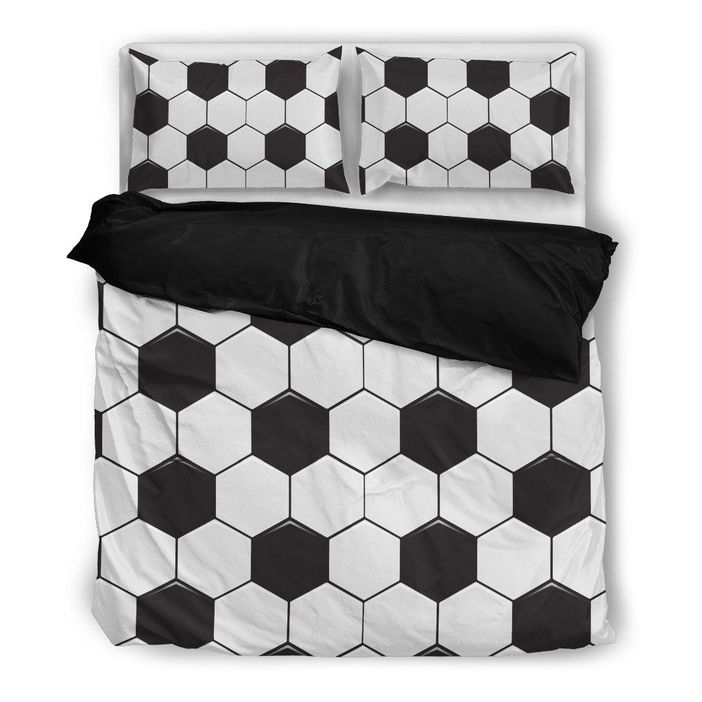 Soccer Duvet Bedding Set - Clicksstars
