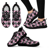 Elephant Argyle Womens Sneakers - Clicksstars
