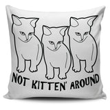 Kitten Pillow White - Clicksstars