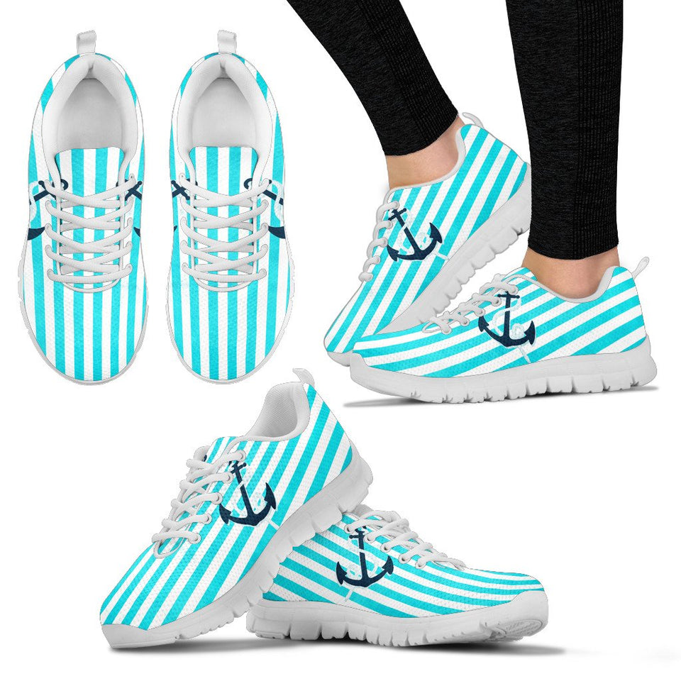 Womens Nautical Sneakers - Clicksstars