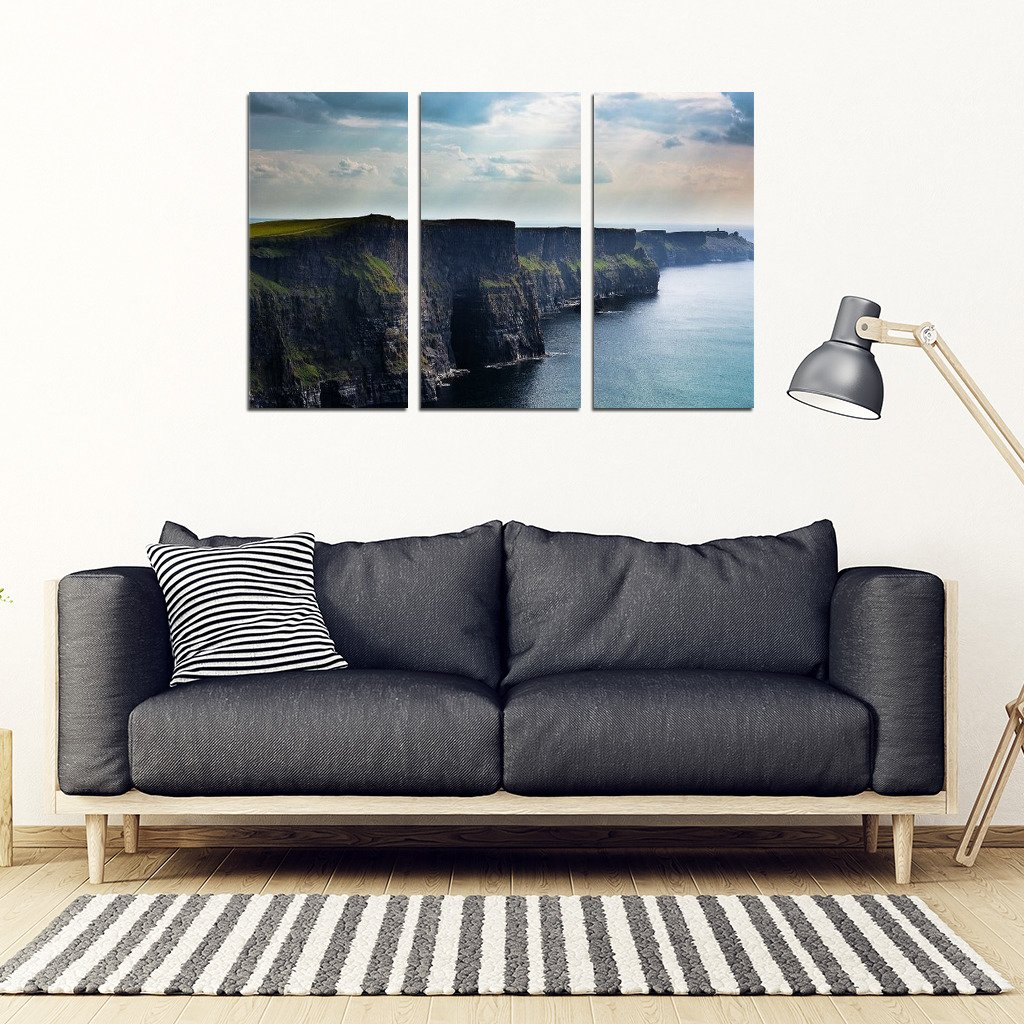 Cliffs of Moher - (3 Pc Wall Picture) - Clicksstars