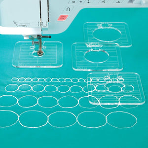 CRAFTS CAPITO PREMIUM EASY QUILTING TEMPLATE SET - Clicksstars
