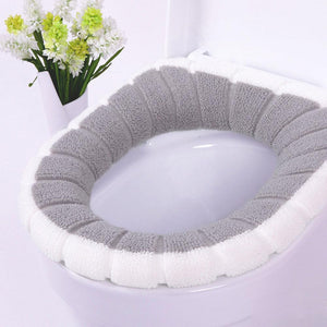 FLUFFY & WARM TOILET SEAT COVER - Clicksstars