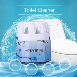 AUTOMATIC BUBBLE TOILET CLEANER - Clicksstars