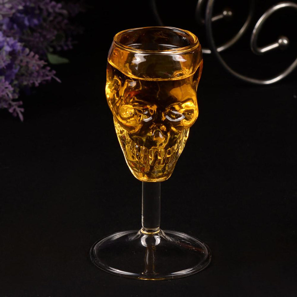 HANDMADE SKULL SHOT GLASS - Clicksstars