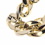 CUBAN LINK THICK GOLD CHAIN PETS SAFETY COLLAR - Clicksstars