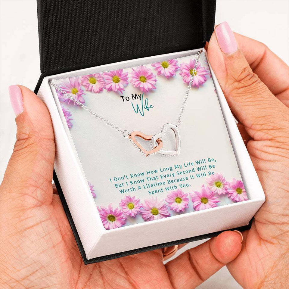 Heart Necklace for Your Beautiful Wife - Clicksstars