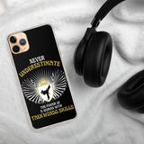 Never Underestimate the Power of Women iPhone Case - Clicksstars