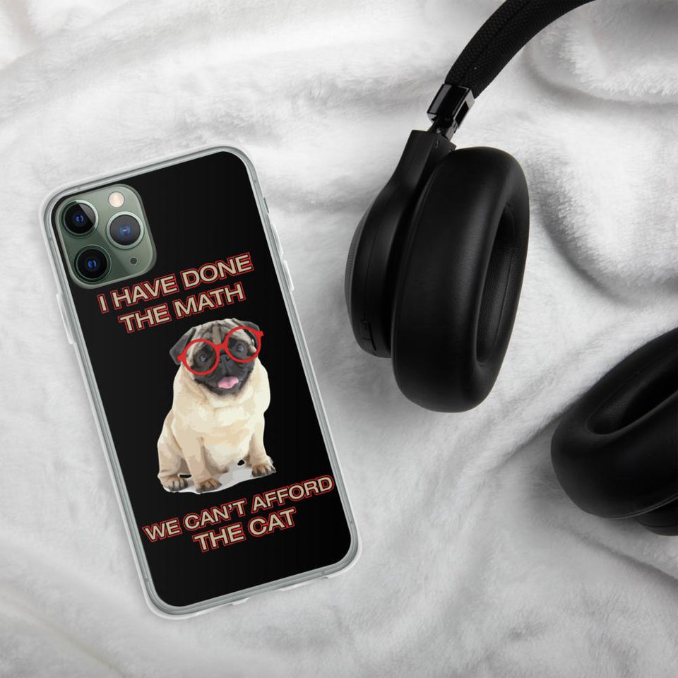 We Can't Afford Cat iPhone Case - Clicksstars