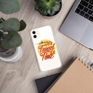 It's Travel Time iPhone Case - Clicksstars
