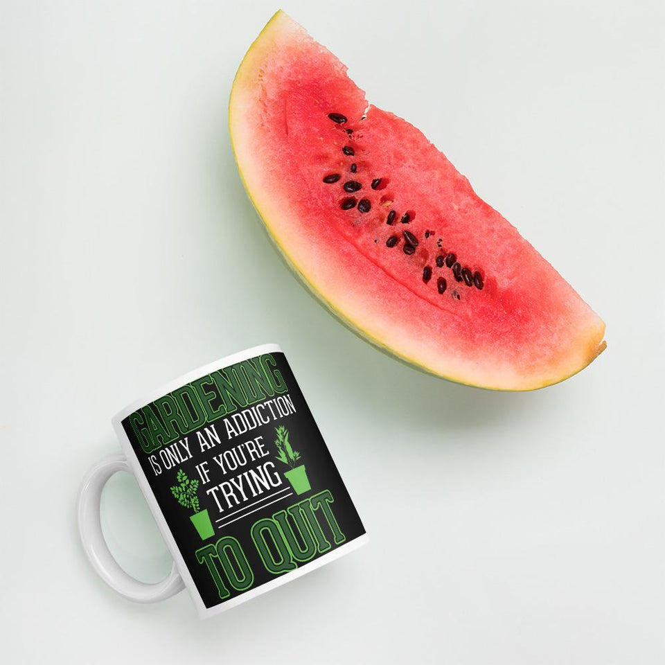 Gardening is Addiction Mug - Clicksstars