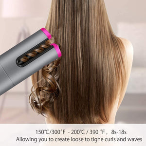 Curler Can - Portable Wireless Automatic Hair Curler