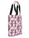 Mi-Pac North South Palm Trees Shopper - Pink 743005-S02