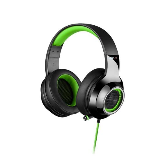 Edifier Headphone USB 7.1 V4 Black/Green Ακουστικά 010149