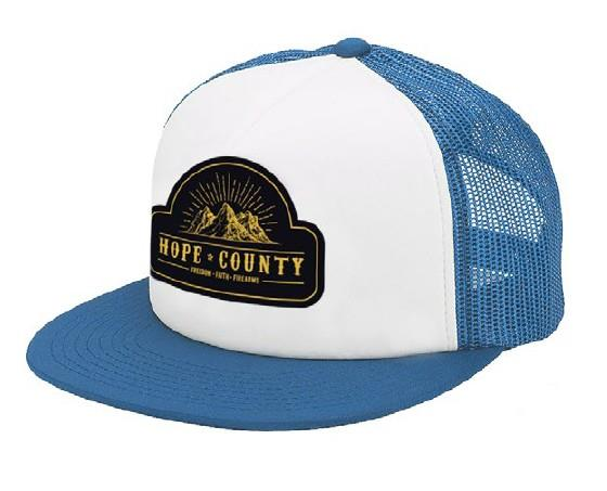 Far Cry 5 - Hope County Trucker White/Blue Cap ΚΑΠΕΛΟ JOCKEY