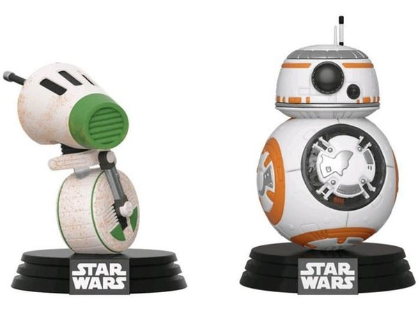 Funko POP! Star Wars - D-0 & BB-8 2Pack (Special Edition) Bobble-Heads Vinyl Figures ΦΙΓΟΥΡΕΣ ΣΤΑΡ ΓΟΥΡΣ