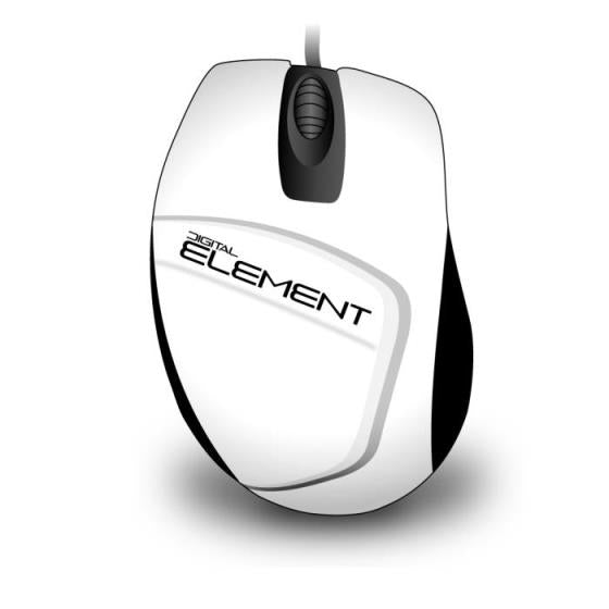 Element Mouse MS-30W White Ποντίκι 080427