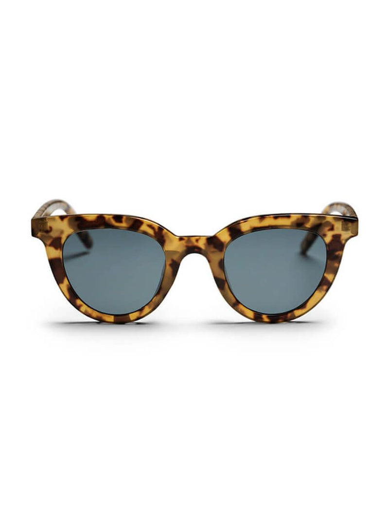 CHPO Γυαλιά Ηλίου  LANGHOLMEN LEOPARD-BLACK Brown 125722_1