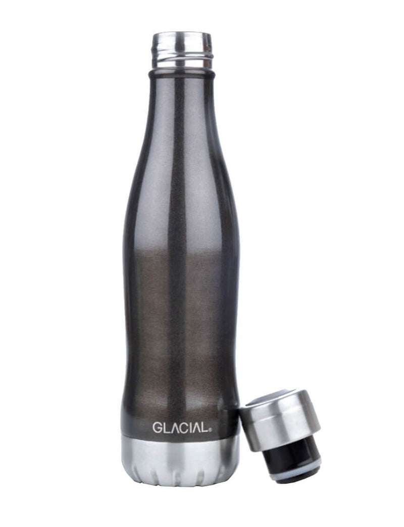 GLΑCIAL Θερμός Black Metallic 400ml B Black 132851_1
