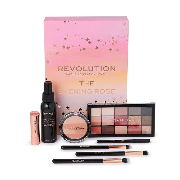 Revolution Beauty The Evening Rose Gift Set Σετ ΜΑΚΙΓΙΑΖ 1371216