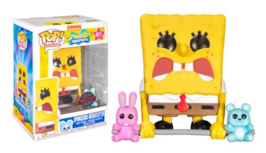 Funko Pop! Spongebob Squarepants - Weightlifter Spongebob #917 Vinyl Figure 062137