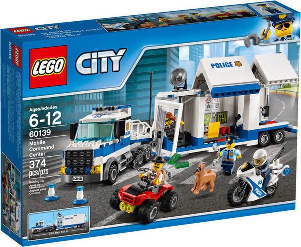 LEGO City Police: Mobile Command Center (60139)