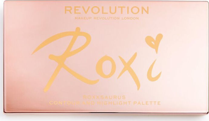 Revolution Beauty x Roxxsaurus Highlight & Contour Palette 20gr ΠΑΛΕΤΑ CONTOUR ΚΑΙ HIGHLIGHT
