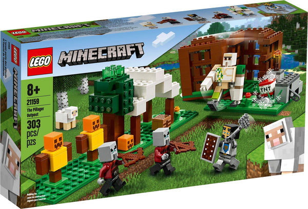 LEGO Minecraft: The Pillager Outpost (21159)