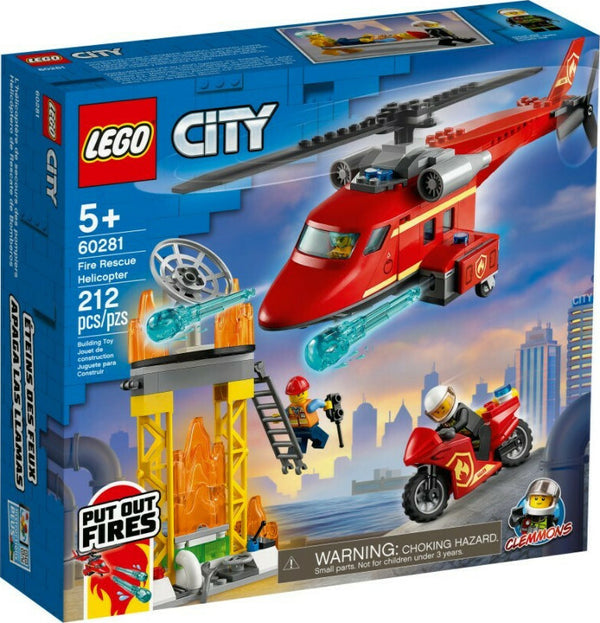 LEGO City Fire: Fire Rescue Helicopter (60281)