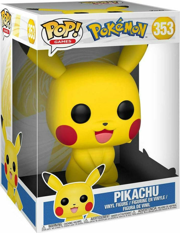 Funko POP! Pokemon Pikachu 353 Supersized Vinyl Figure ΦΙΓΟΥΡΑ ΠΙΚΑΤΣΟΥ (25cm)