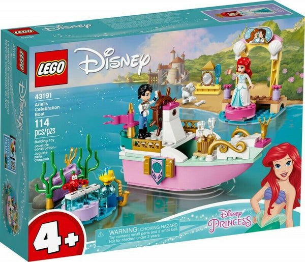 LEGO Disney Princess: Ariel's Celebration Boat (43191)