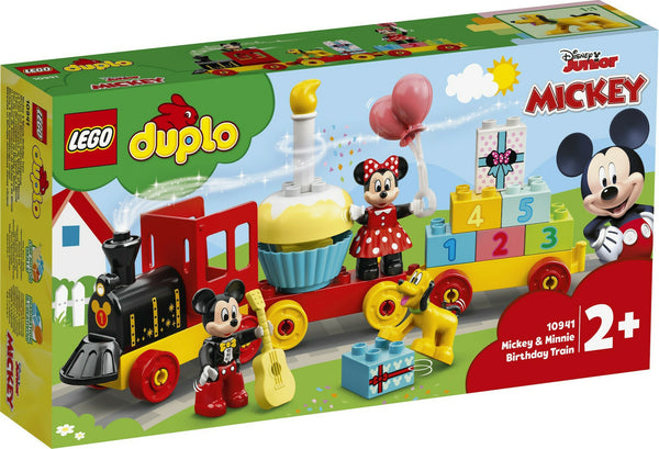 LEGO Duplo Disney: Mickey & Minnie Birthday Train (10941)