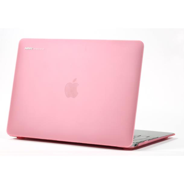 Remax Pc Case for Macbook 12 Pink Θήκη Macbook 230258