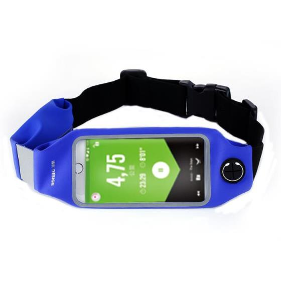 WK Lemove Waist Bag Blue WT-B08 Θήκη Κινητού 250208