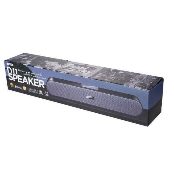 WK Speaker BT D11 Black Bluetooth Ηχείο 250524