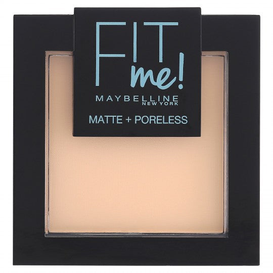 Maybelline Fit Me Matte & Poreless 104 Soft Ivory ΜΑΤ ΠΟΥΔΡΑ 8.5gr