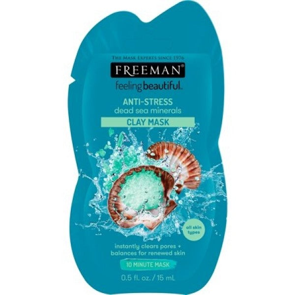 Freeman FeelingBeautiful Dead Sea Minerals Anti-Stress Mask 15ml Μασκα Προσωπου 45999