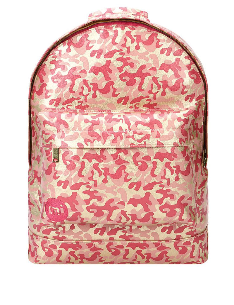 Mi-Pac Backpack Gold Pink Camo 740360-055
