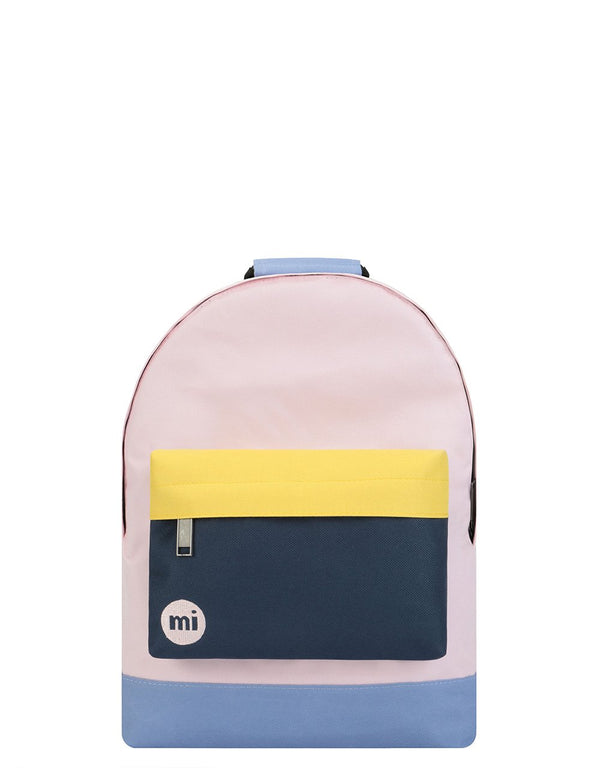 Mi-Pac Mini Colour Block Backpack - Blush/Navy 740416-A58