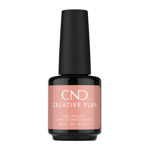 CND Creative Play Gel Polish Ημιμόνιμο Βερνίκι Νυχιών Blush On You 15ml 406 92389-CG406