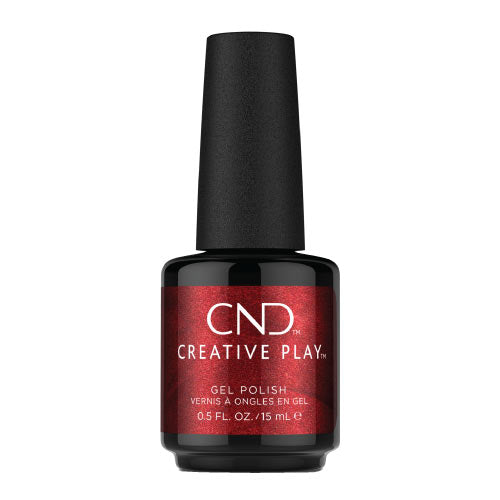 CND Creative Play Gel Polish Ημιμόνιμο Βερνίκι Νυχιών Crimson Like It Hot 415 CG415