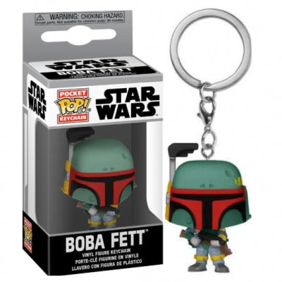 Funko Pocket Pop! Keychain: Star Wars - Boba Fett Vinyl Figure ΜΠΡΕΛΟΚ 53055