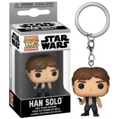 Funko Pocket Pop! Keychain: Star Wars - Han Solo Vinyl Figure ΜΠΡΕΛΟΚ 53057