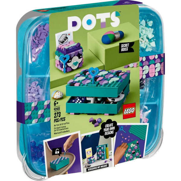 LEGO Dots Secret Boxes Jewellery Box Set Κουτιά Μυστικών 41925