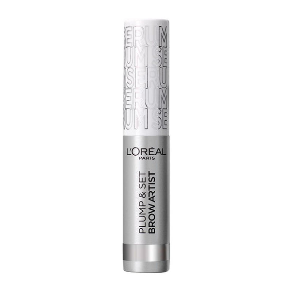 L'Oreal Plump & Set Brow Artist Διάφανη Μάσκαρα Φρυδιών Serum Transparent 5ml