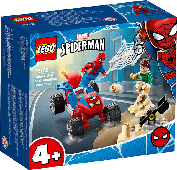 Lego Super Heroes: Marvel Spider-Man and Sandman Showdown 76172