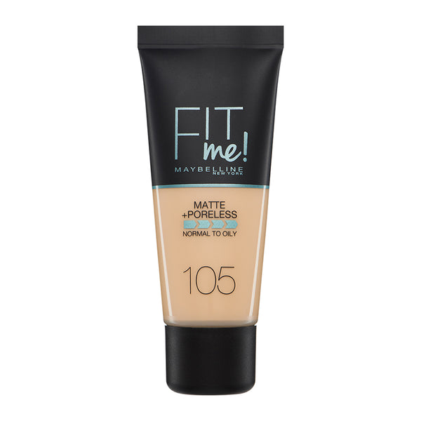 Maybelline Fit Me Matte + Poreless Foundation 105 Natural Ivory 30ml